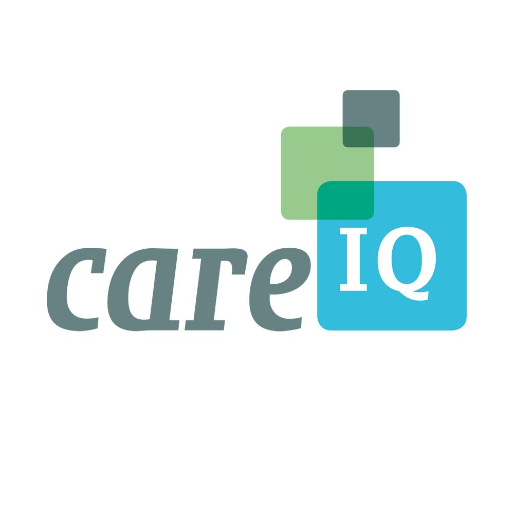Huisstijl Care IQ - high tech & human touch